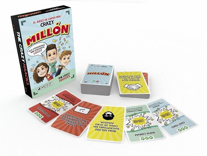 MILLÓN. El juego más Crazy (The Crazy Haacks) | 9788417922269 | The Crazy Haacks, | Llibres.cat | Llibreria online en català | La Impossible Llibreters Barcelona